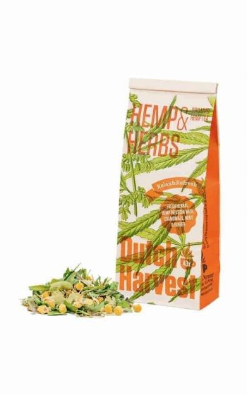 Hemp Tea - Hemp & Herbs