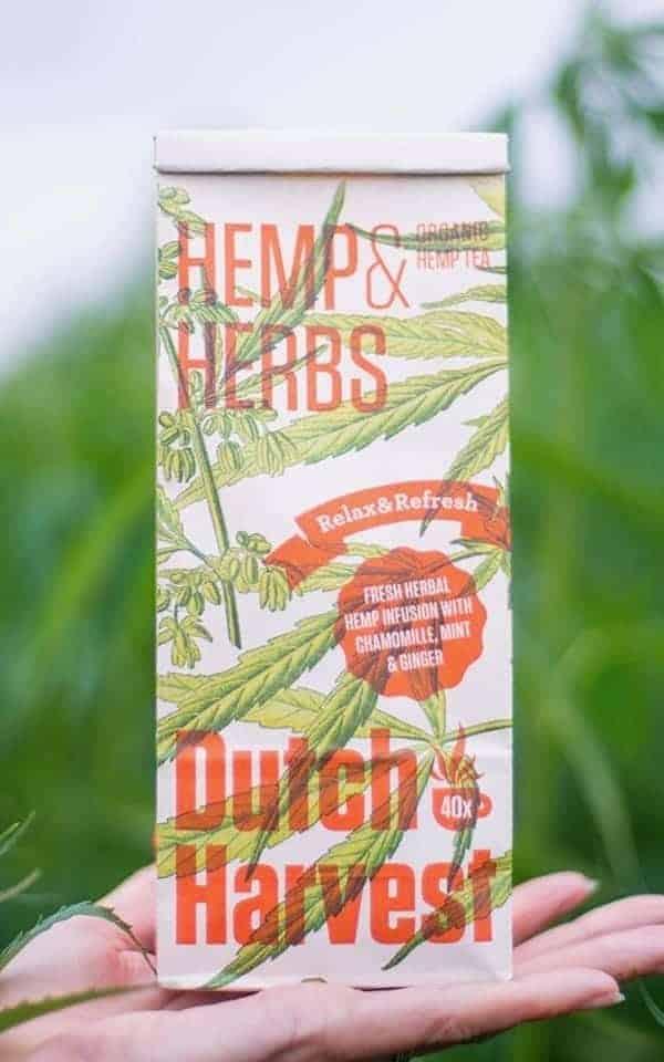 Hemp Tea - Hemp & Herbs