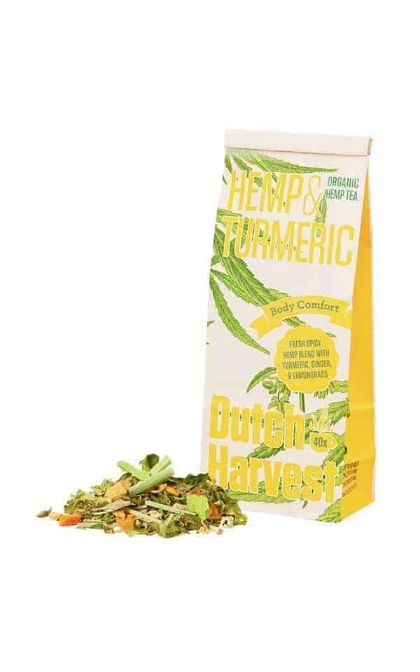 Hemp Tea - Hemp Turmeric