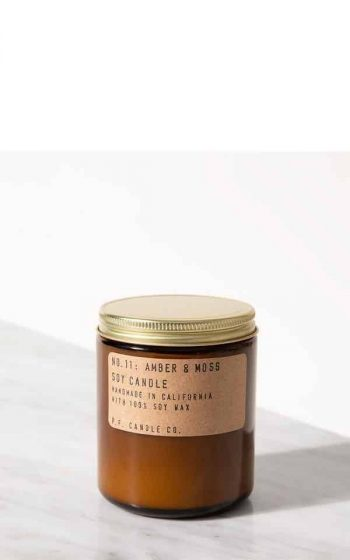 Candle No.11 Amber & Moss