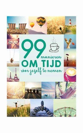 Book - 99 Manieren Tijd voor Jezelf