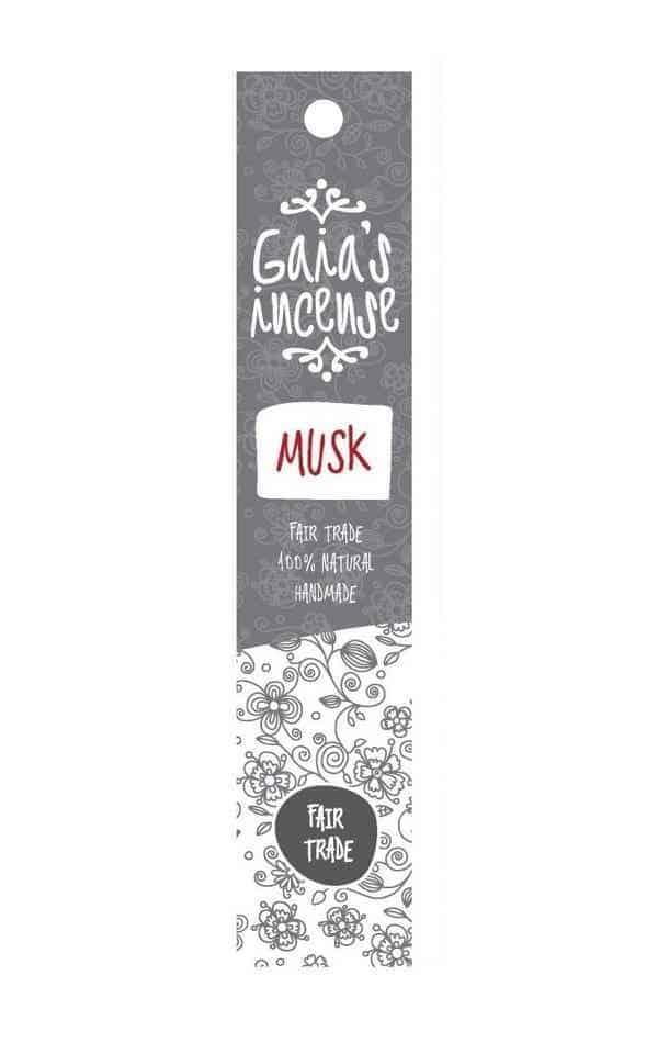 Incense Gaia - Musk