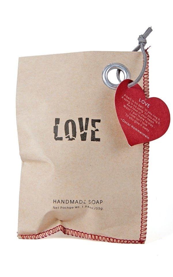Soap Bag Love from Het Faire Oosten