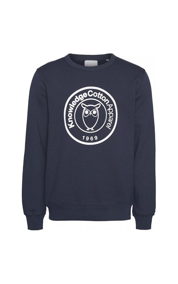 Sweater Elm Badge Print