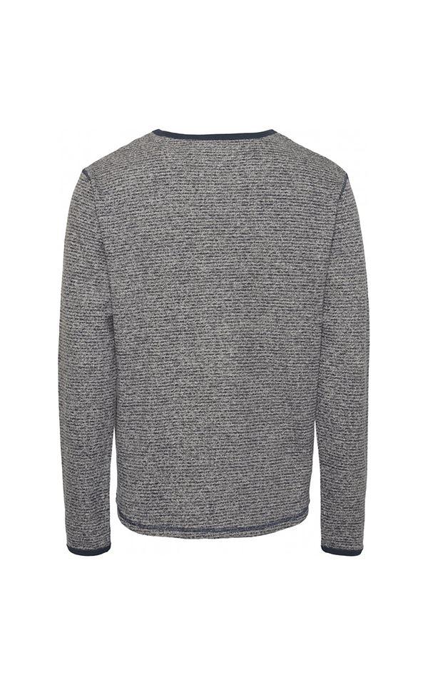 Sweater Walnut Striped Hemp