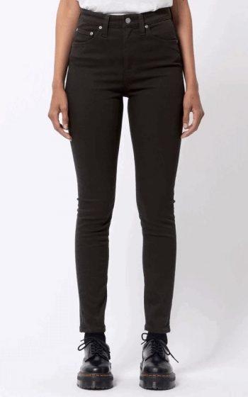 Jeans Hightop Tilde - Ever Black