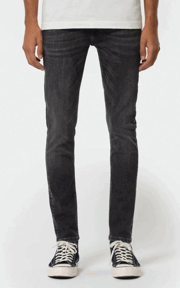 Jeans Skinny Lin - Worn Black