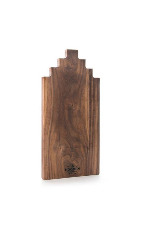 Tapas Board Walnut Wood 40cm