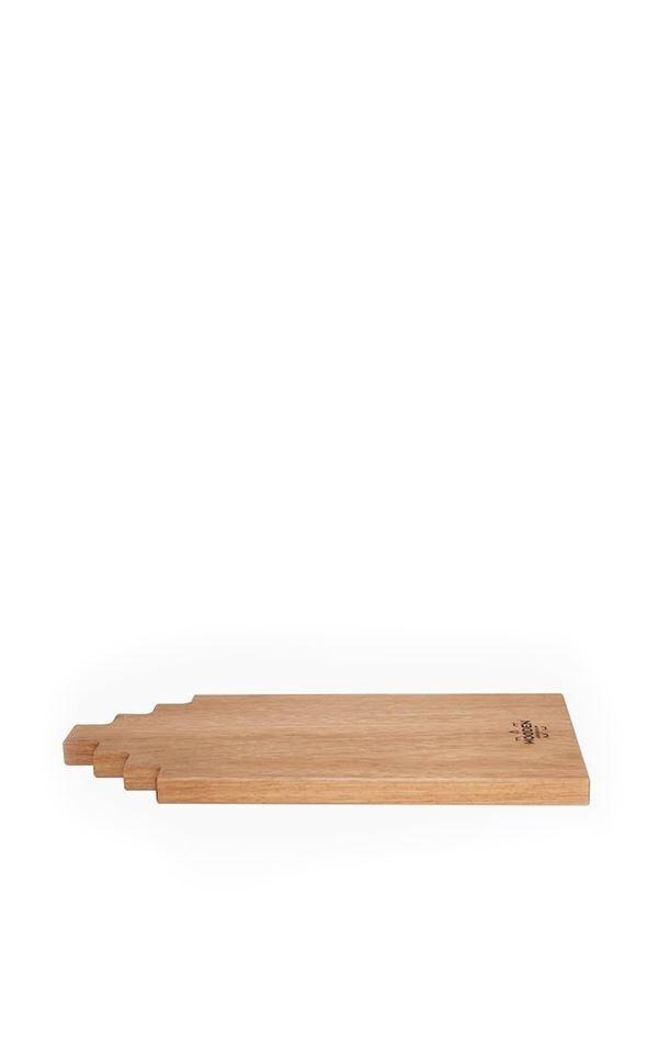 Tapas Board Afzelia Wood 40cm