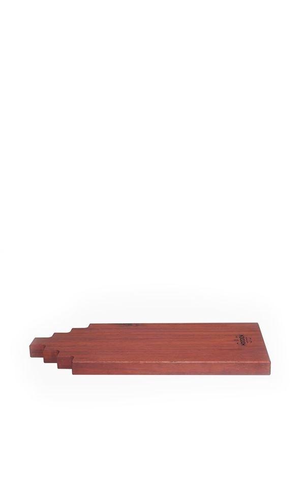 Tapas Board Padouk Wood 30cm