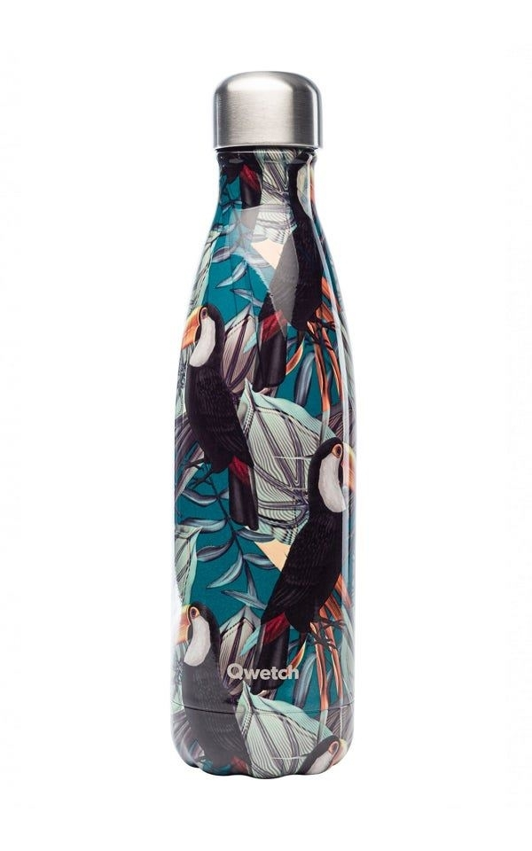 Bottle Insulated Steel - Tropical Toucan