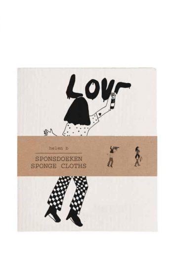 Sponge Cloth - Dots & Love