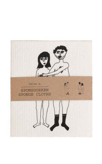 Sponge Cloth Naked Couple