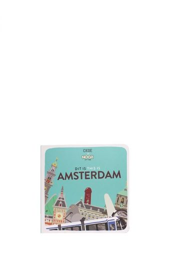 Cardboard Booklet - Amsterdam