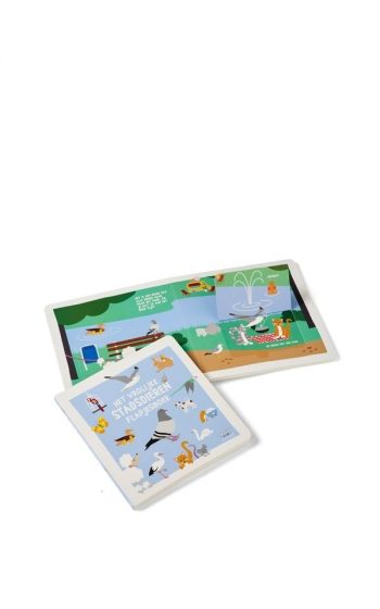 Flap Book - Cheerful City Animals