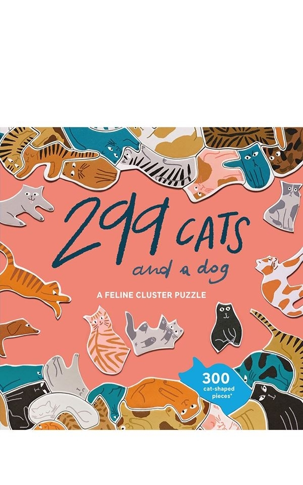 Puzzle - 299 Cats And A Dog