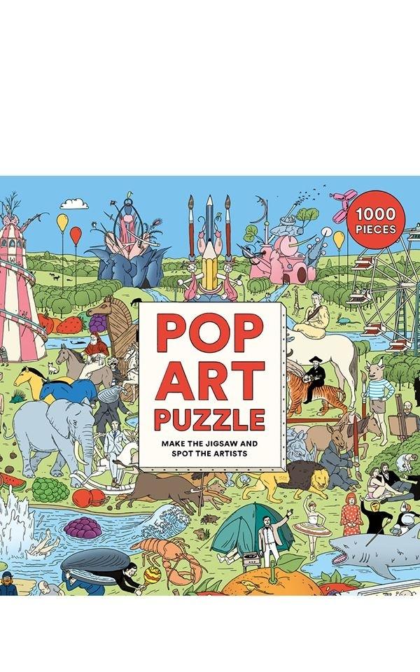 Puzzle - Pop Art
