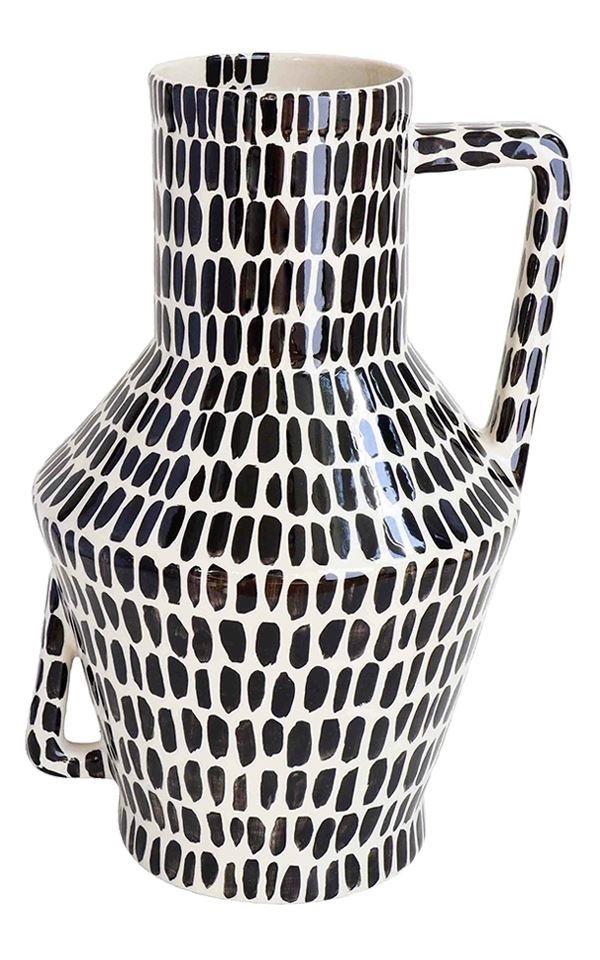 Vase Handpainted Smudges