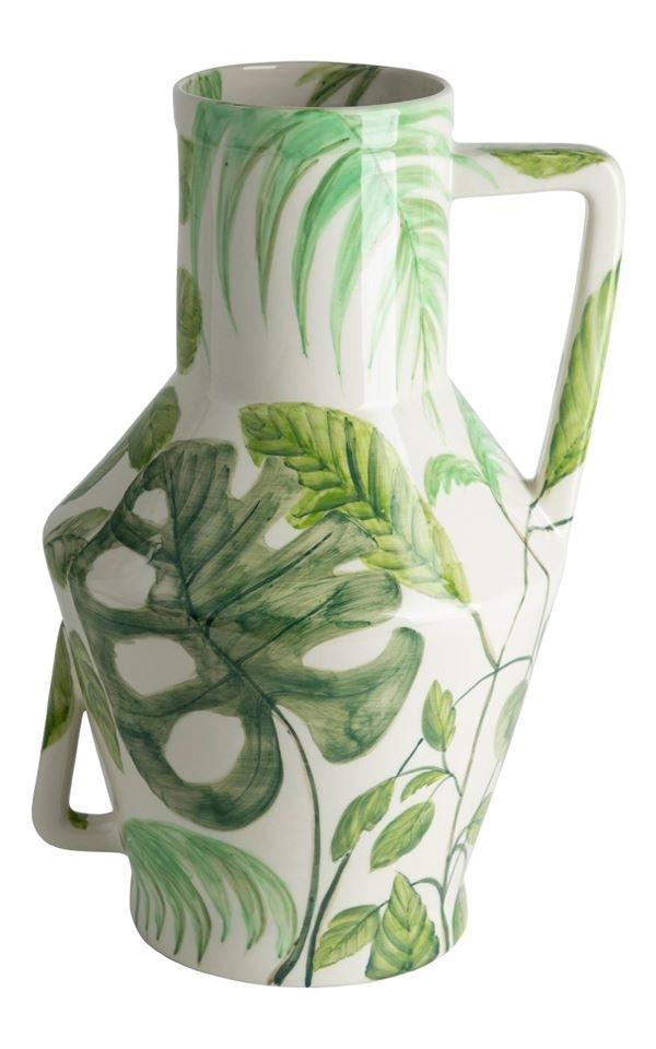 Vase Handpainted Jungle