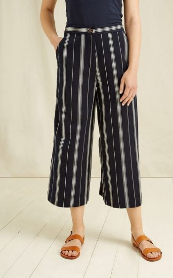 Trousers Shauna Stripe - Black