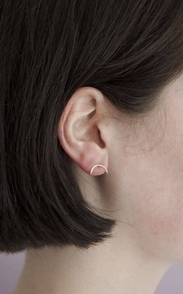 Earring - Oval Small