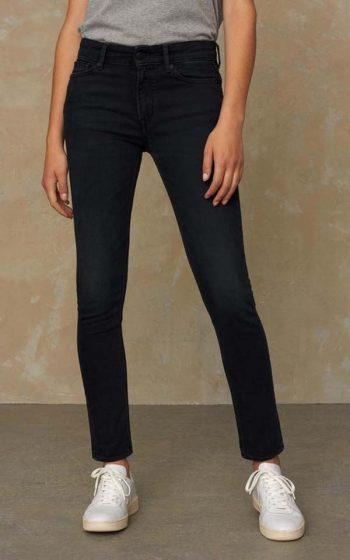 Jeans Juno High - Blue Black Worn