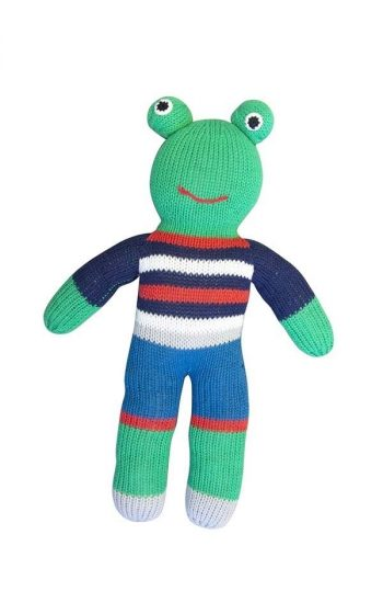 Knitted Fred Frogger