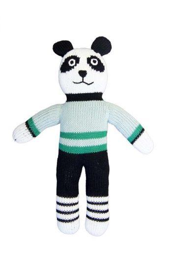 Knitted Panda Fu