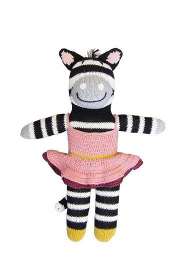 Knitted Zebra Zena