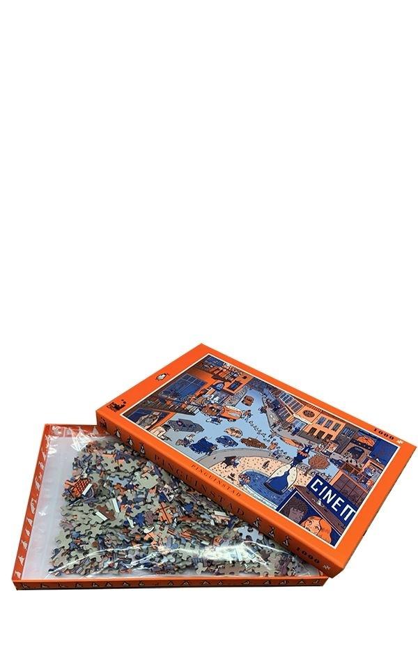 Puzzle Pinguinstad