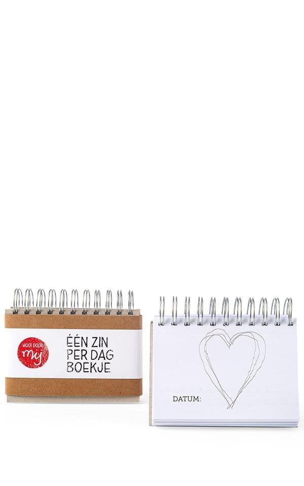 Notebook – Een zin per dag from Het Faire Oosten