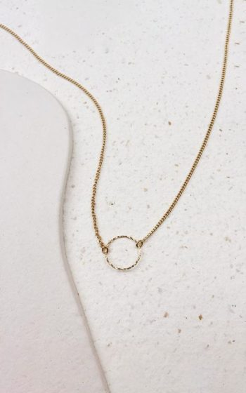 Necklace Fine Circle