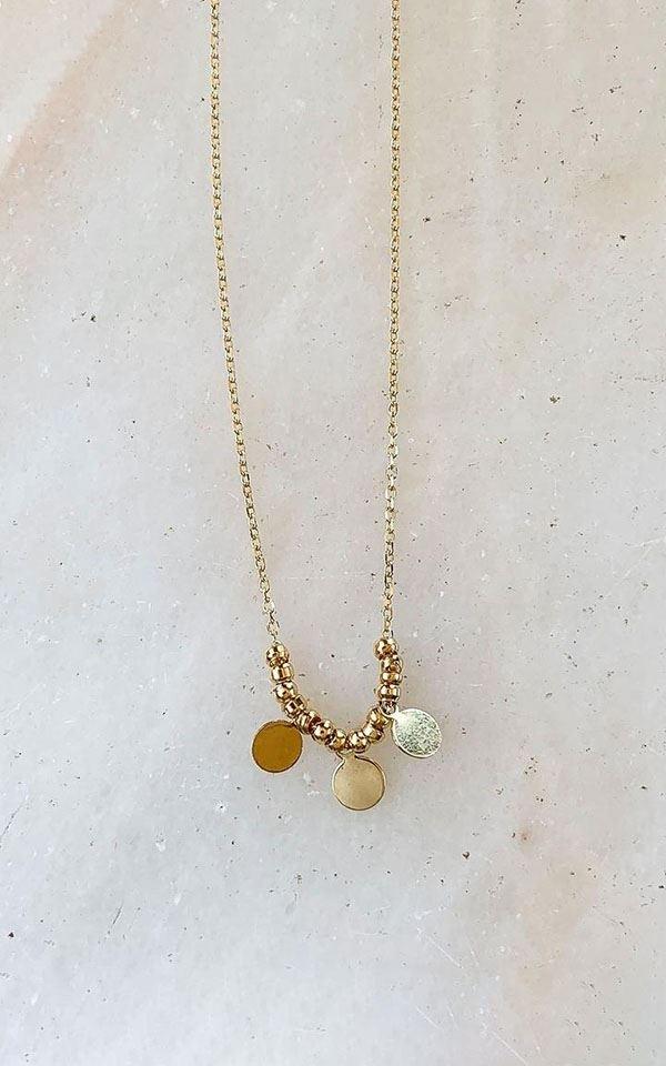 Necklace Flat Circle