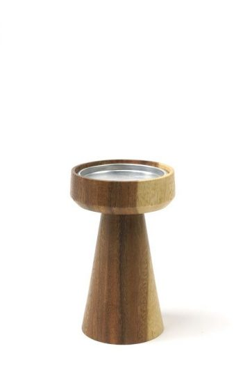 Candleholder Pillar Mushroom