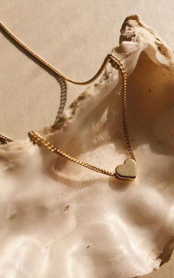 Necklace Tiny Heart