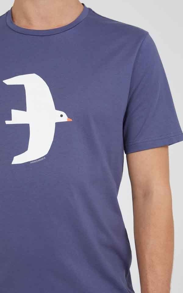 T-Shirt Jaames White Bird