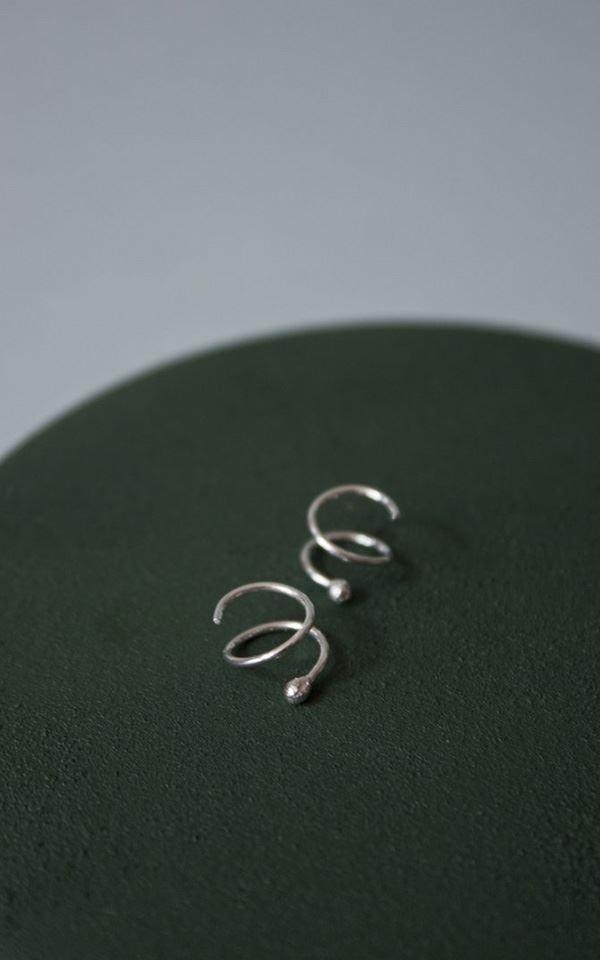 Earring Swirl – Right from Het Faire Oosten