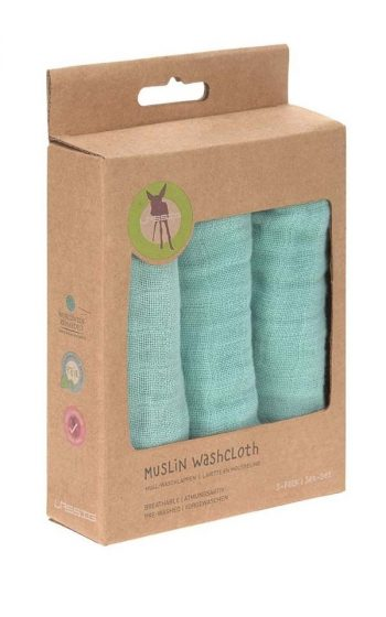 Washcloth Muslin 3-Pack