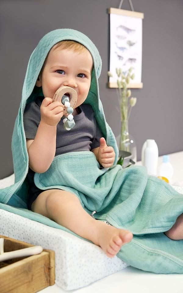 Hooded Towel Muslin