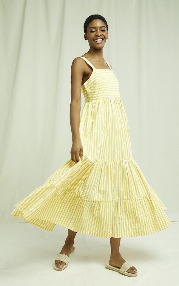 Dress Striped Lea