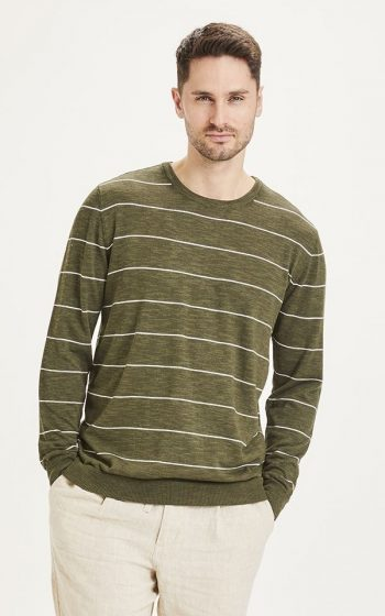 Knit Forrest O-Neck Striped