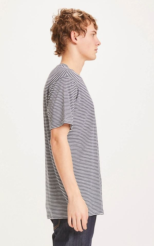 T-Shirt Alder Narrow Striped