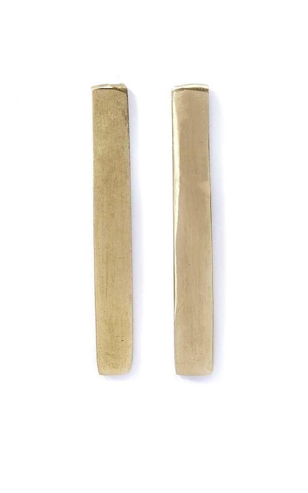 Earrings Long Bar