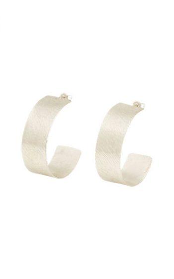 Earrings Wide Hoop