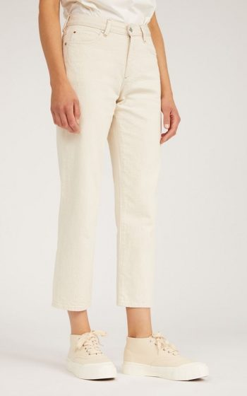 Jeans Fjellaa Cropped Undyed