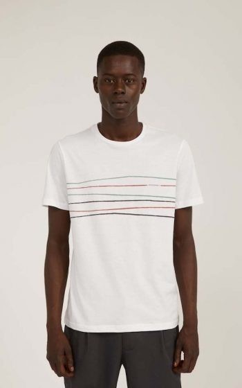 T-Shirt Jaames Crooked Lines