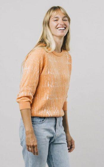 Sweater Camou Mandarine