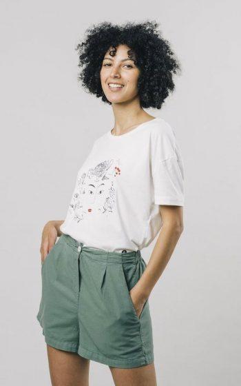 T-Shirt Flower Face