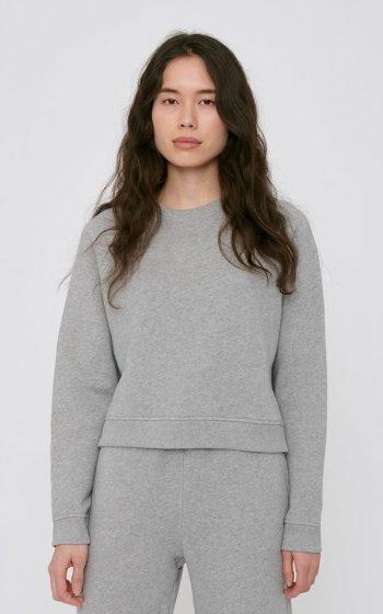 Sweatshirt Cropped Mid-Weight