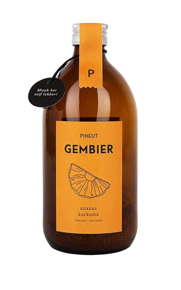 Gemberbier Ananas/Kurkuma